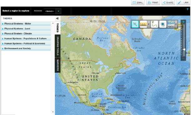 MapMaker Interactive, national geographic
