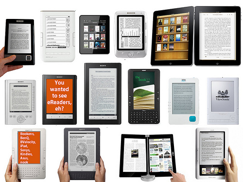 e-reader, digital textbook
