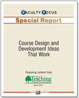 special report from Faculty focus