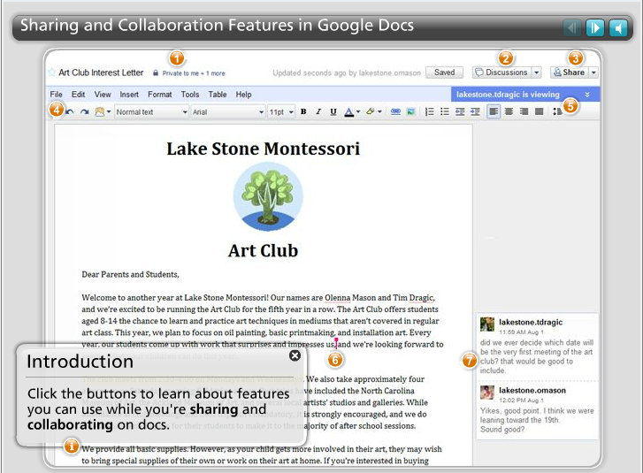 Tools For Collaboration Classroom Aid