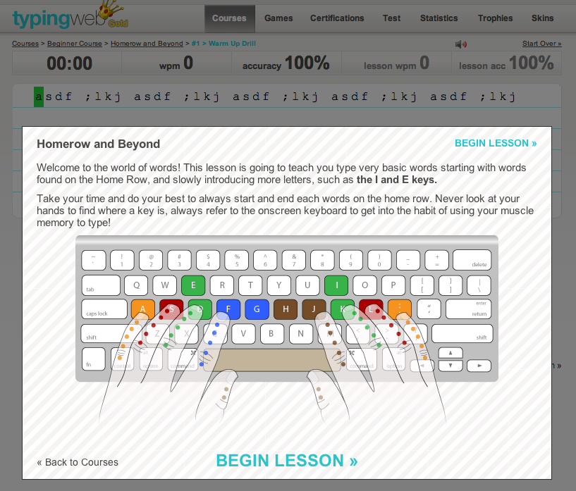 Free Online Typing Course For Kids