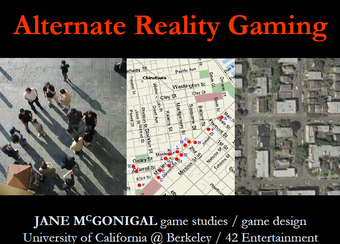 Reality is broken : why games make us better and how they can change the world /