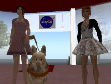 NASA learning game