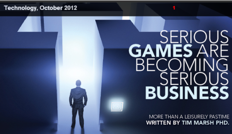 serious games, game-based learning