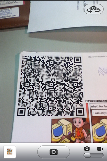 QR code for classroom