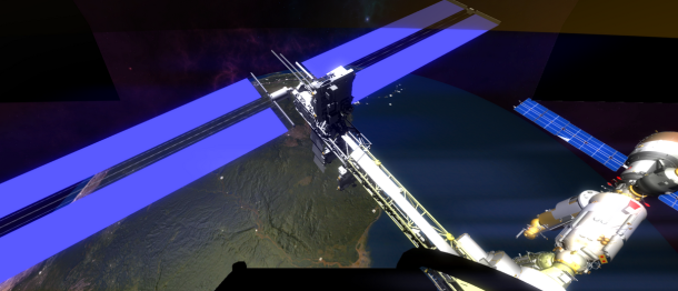 game for exploring space station