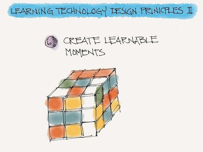 Learning technology design