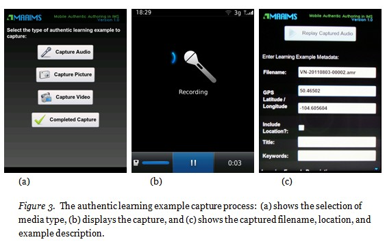 MAAIMS mobile learning authoring for OER
